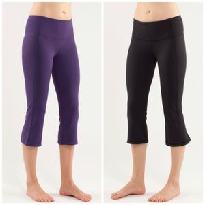 Lululemon | Reversible Gather & Grow Crop Legging